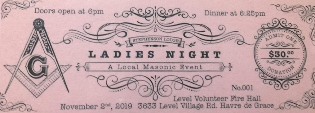 Annual Ladies Night @ Level Volunteer Fire Hall