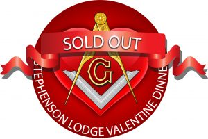 Stephenson Lodge Valentines Dinner